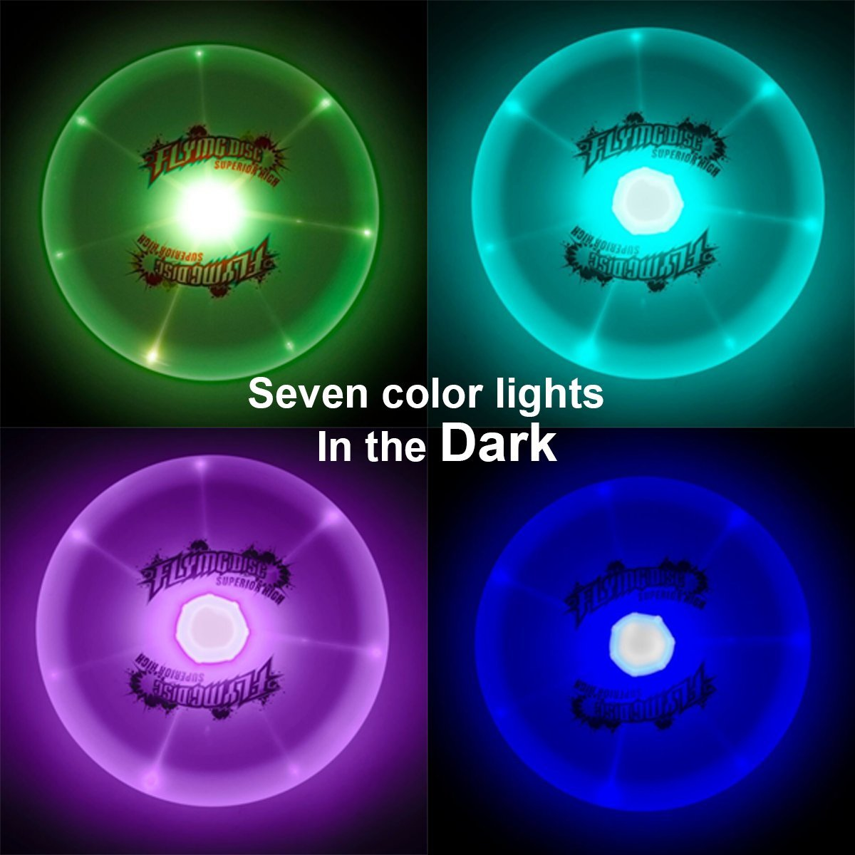 flying up green light frisbee disc products llc glowcity