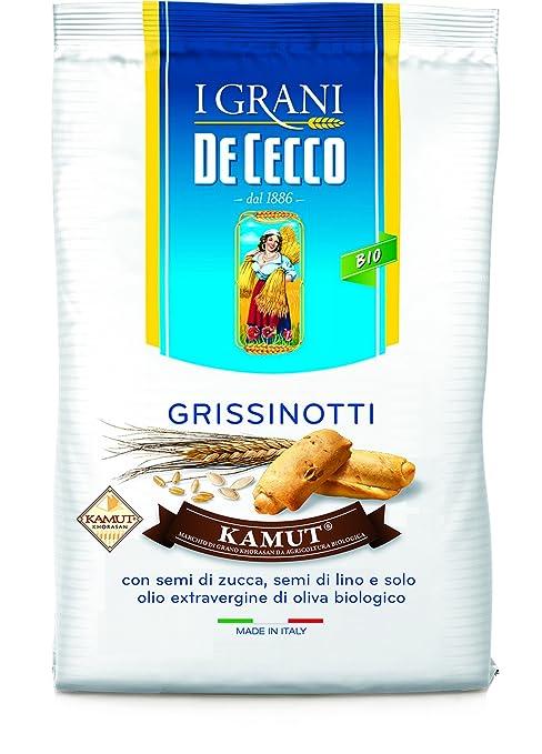 6 opinioni per De Cecco Grissinotti Grano Kamut- 1 Confezione