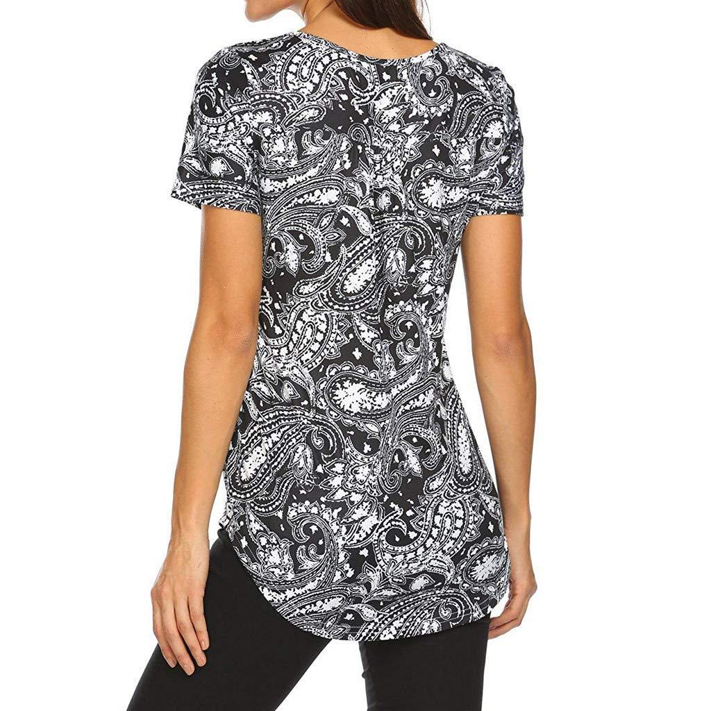 Amazon.com: Blusa casual para mujer, St.Dona verano elegante ...
