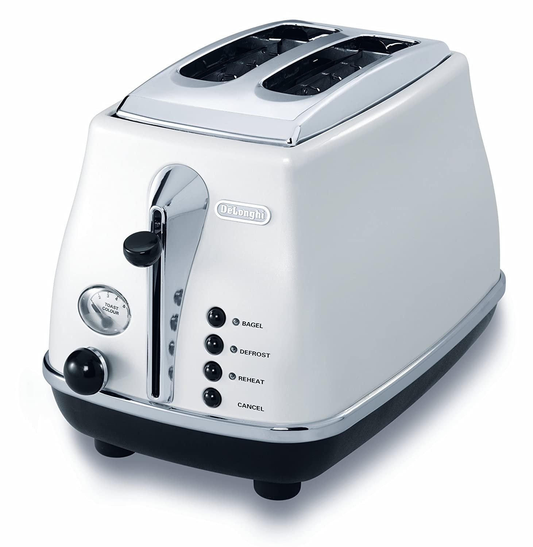 Amazon.com: De\'Longhi CTO2003WCTO2003W 2-Slice Toaster: Delonghi ...