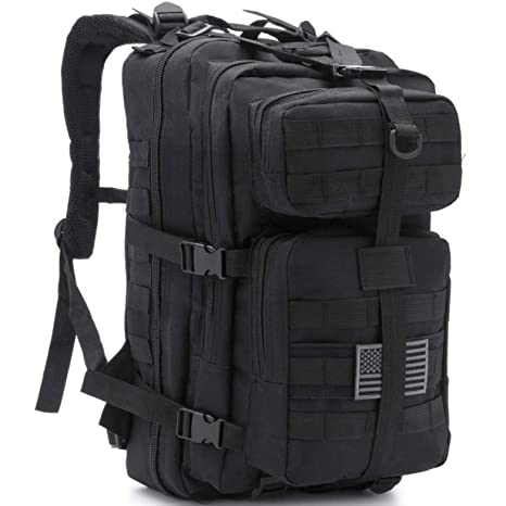 Dragon Ninja Tactical Backpack Large Premium Army Military Hunting Range  EDC Outdoor 42 L Daypack Rucksack 0ae002e07bd93