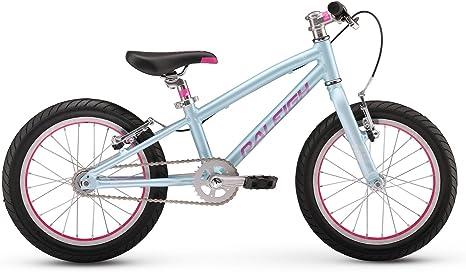 Raleigh Bikes Lily 16 - Bicicleta de montaña para niñas de 3 a 6 ...