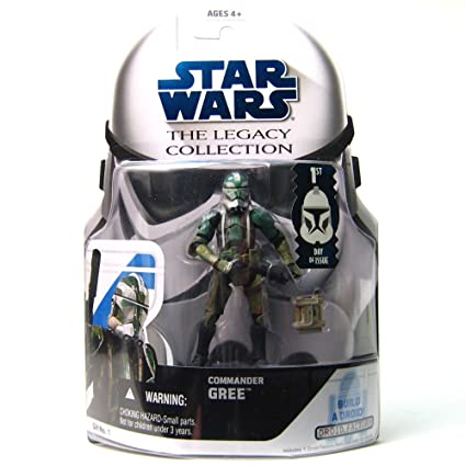 Hasbro Star Wars The Legacy Collection Commander Gree