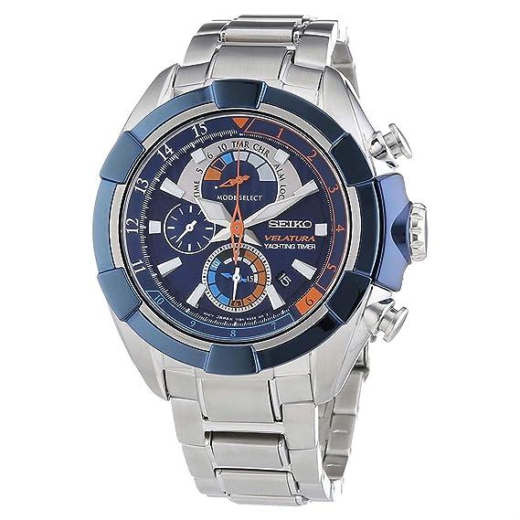 Reloj Seiko Velatura Spc143p1 Hombre Azul