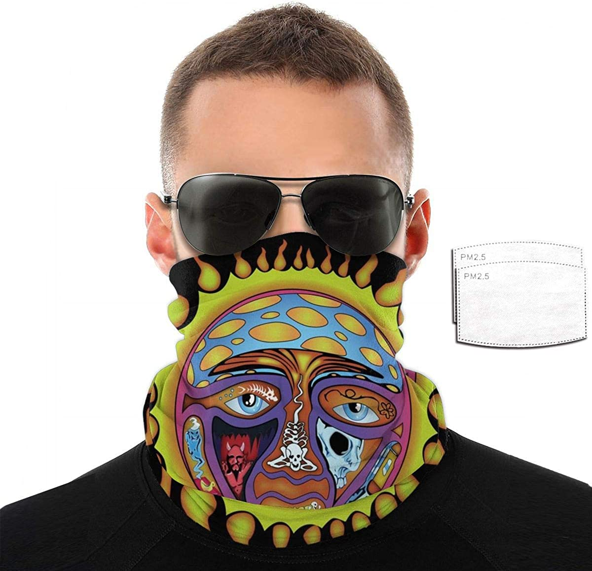 Half Face Mask Bandana for Men Women, Neck Warmers Gaiters for Sun