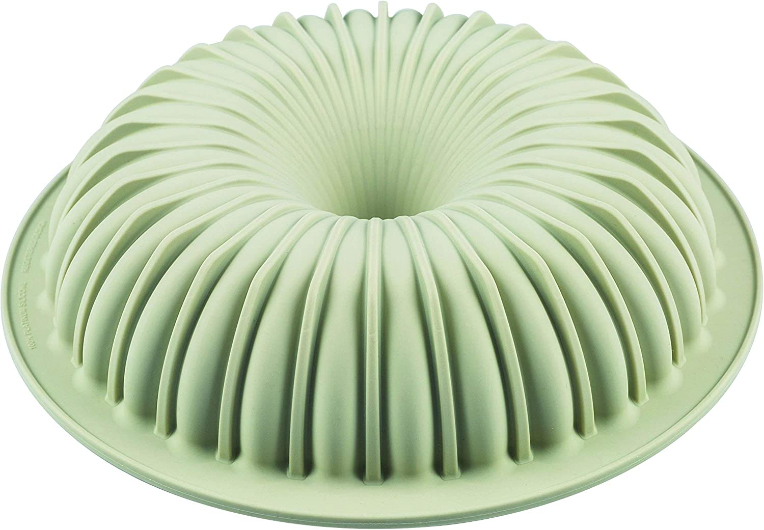 Silikomart 20.362.13.0065 Raggio Silicone Mold, Flexible Bundt Cake Pan with 3D Technology for Ribbed Detailing, Easily Unmolds, Oven, Microwave, Freezer and Dishwasher Safe, 51-3/4-Fluid Ounces
