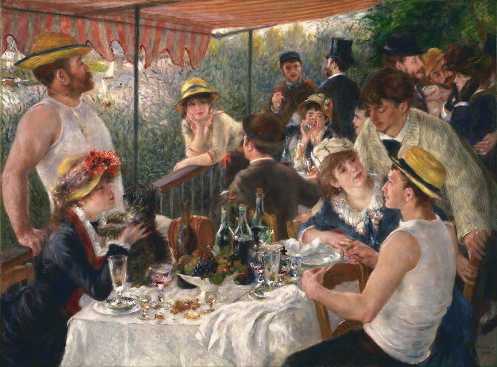 Algerian in Paris dress by Pierre-Auguste Renoir Giclee Fine ArtRepro on Canvas