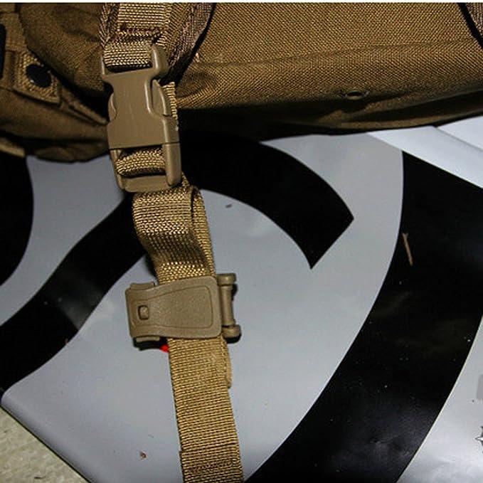 10pcs Clips De Raccordement Noire Molle Sangles Sac Bandouliere Sac a Dos Clip Boucle