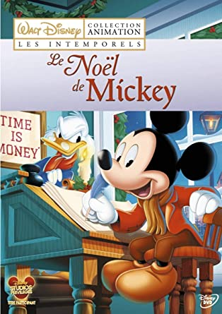 Le Noël De Mickey Amazon Fr Burny Mattinson Don Bluth