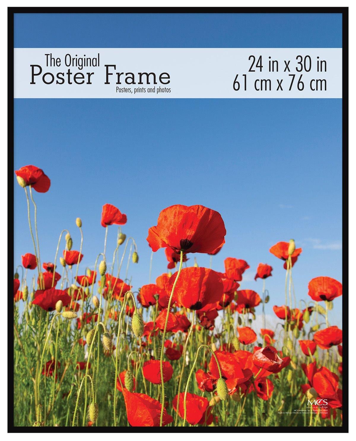 MCS 24x30 Inch Original Poster Frame, Black (23440)