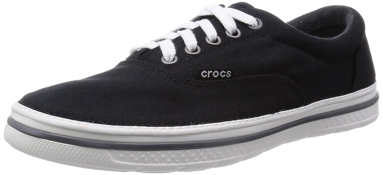 crocs 201651 - Mocasines de Lona para Hombre Negro Negro y Blanco 39/40 EU: Amazon.es: Zapatos y complementos