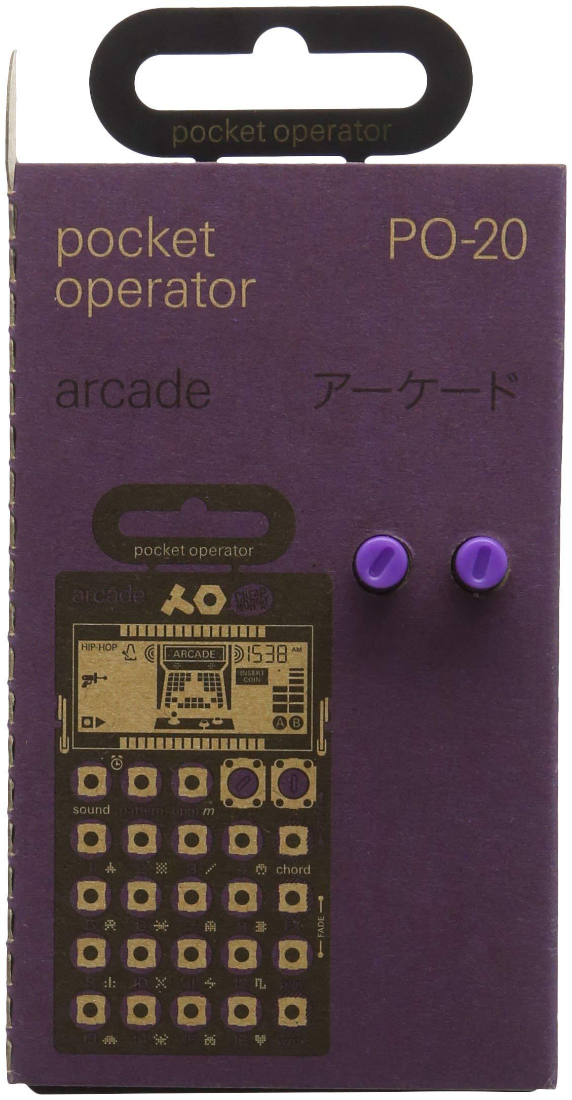 Teenage Engineering TE010AS020A PO-20 Arcade Pocket Operator (Certified Refurbished)