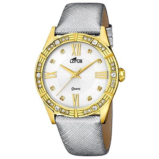 Lotus reloj mujer Trend Trendy caja chapada oro con circonitas 15982/3: LOTUS: Amazon.es: Relojes