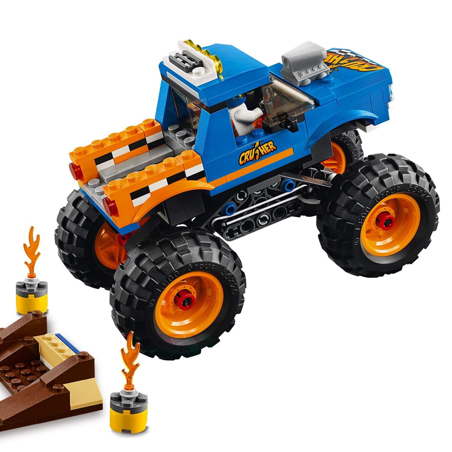 De City 60180 Lego Truck Construction Monster Jeu Le 3q54ARjL