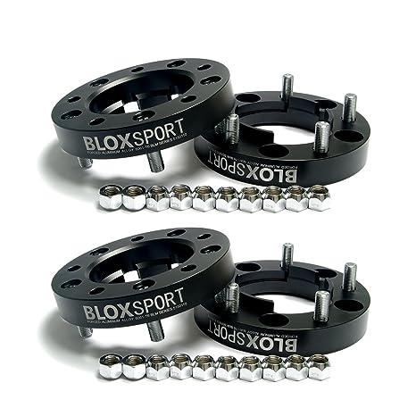 bloxsport 4pcs 25 mm PCD 5 x 150 CB110 Hub Centric ruedas espaciadores aluminio forjado 6061