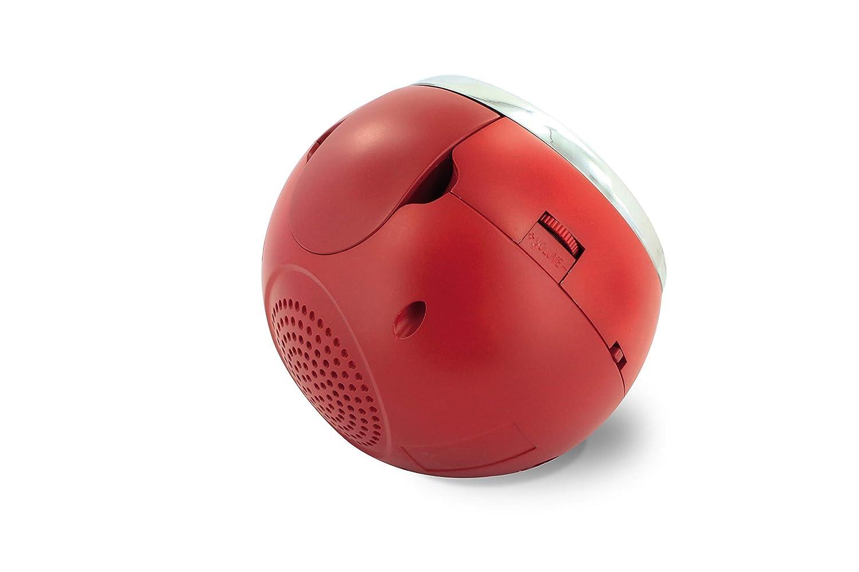 Radio sveglia con proiezione Cherry USB Rosso colore METRONIC 477024