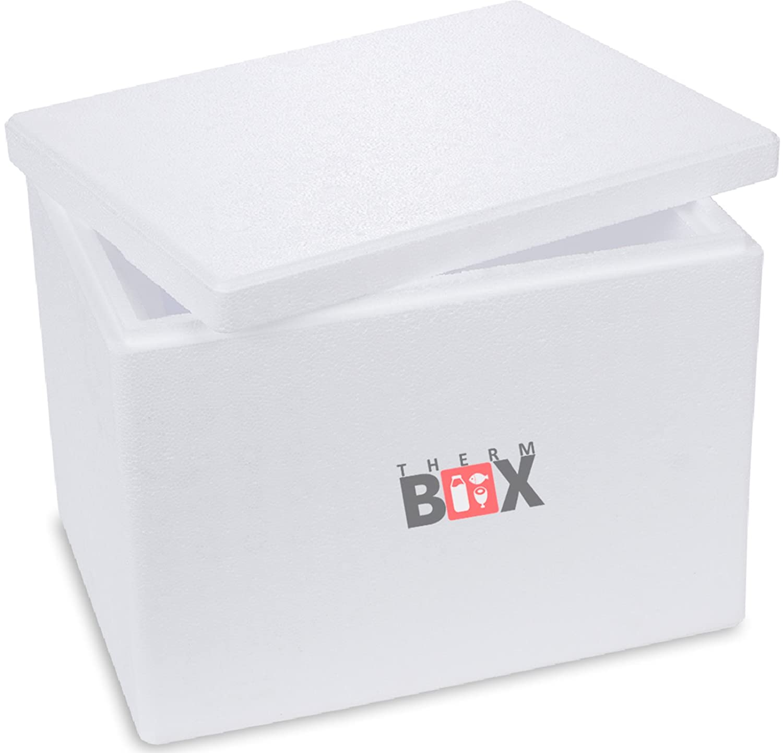 Boîte polystyrène blanc Box Boîte thermique Glacière Isotherme 40 ...