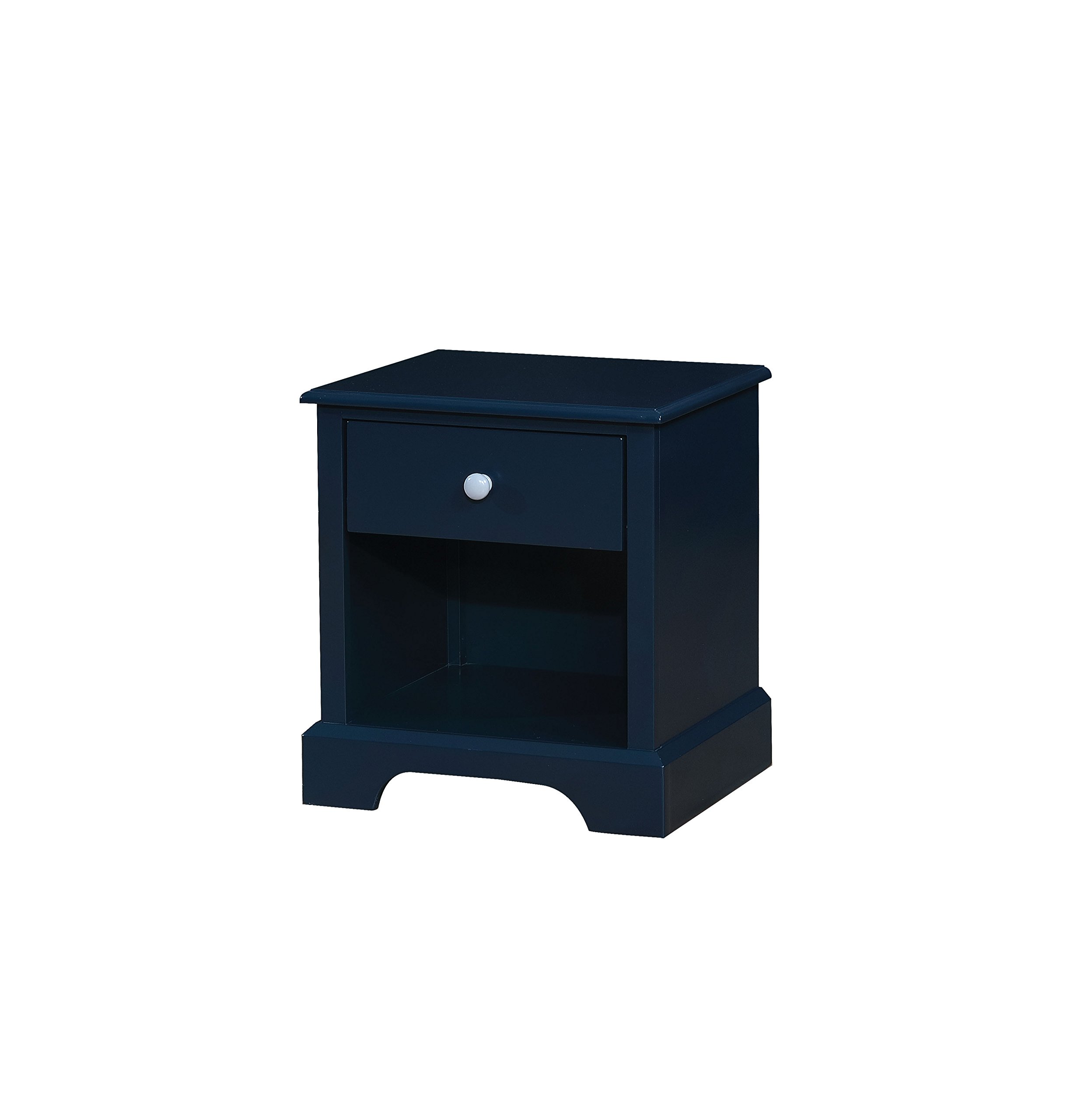 HOMES: Inside + Out IDF-7158BL-N Triton Nightstand, Blue