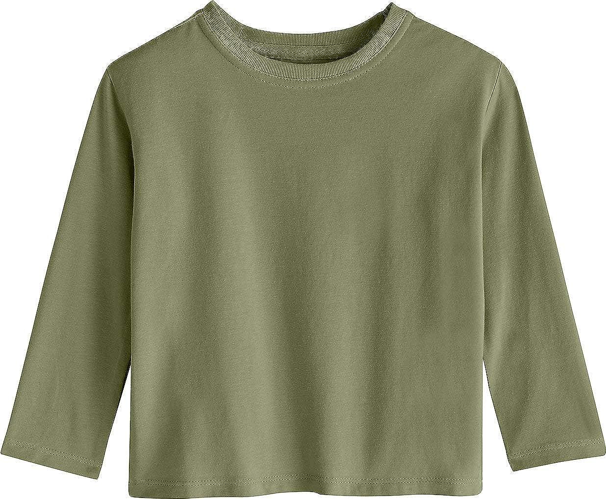 Toddler Coco Plum Everyday Long Sleeve T-Shirt Sun Protective Coolibar UPF 50