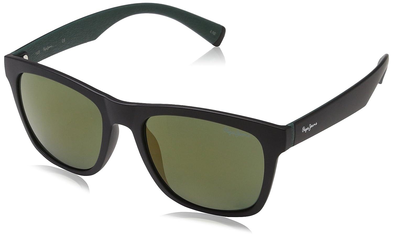 Pepe Jeans Sunglasses Martin, Gafas de Sol para Hombre, Negro (Black), 52