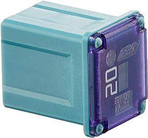 Cooper Bussmann FMX-20LP 20 Amp Low Profile Female Maxi Fuse, Blue, 32Vdc, One Per Polybag (1-Pack)