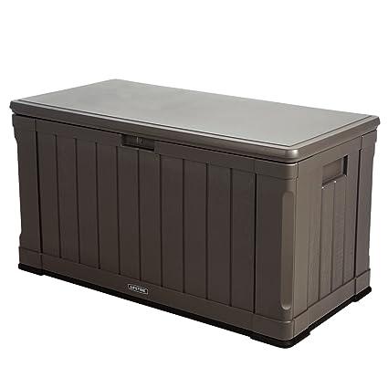 Amazon Com Lifetime 60089 Deck Storage Box 116 Gallon Garden Outdoor