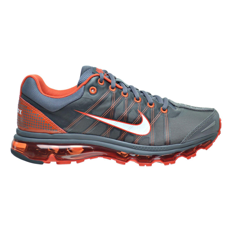 f572a695ce Nike Air Max 2009 Men's Shoes Dark Grey/White/Vivid Orange 486978-018