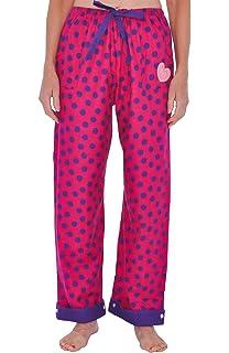 fb06d11de4 JUST LOVE 100% Cotton Jersey Women Plaid Pajama Pants Sleepwear ...