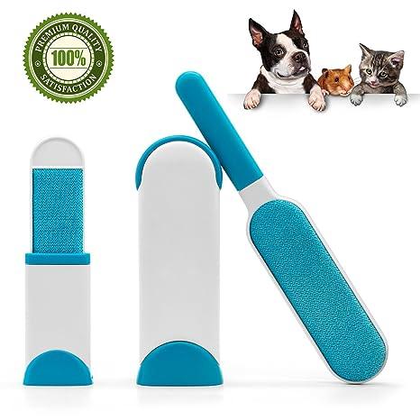 Cepillo de Limpieza para Mascotas- Removedor de Pelaje de Mascota para el Perros y Gatos. Pasa ...