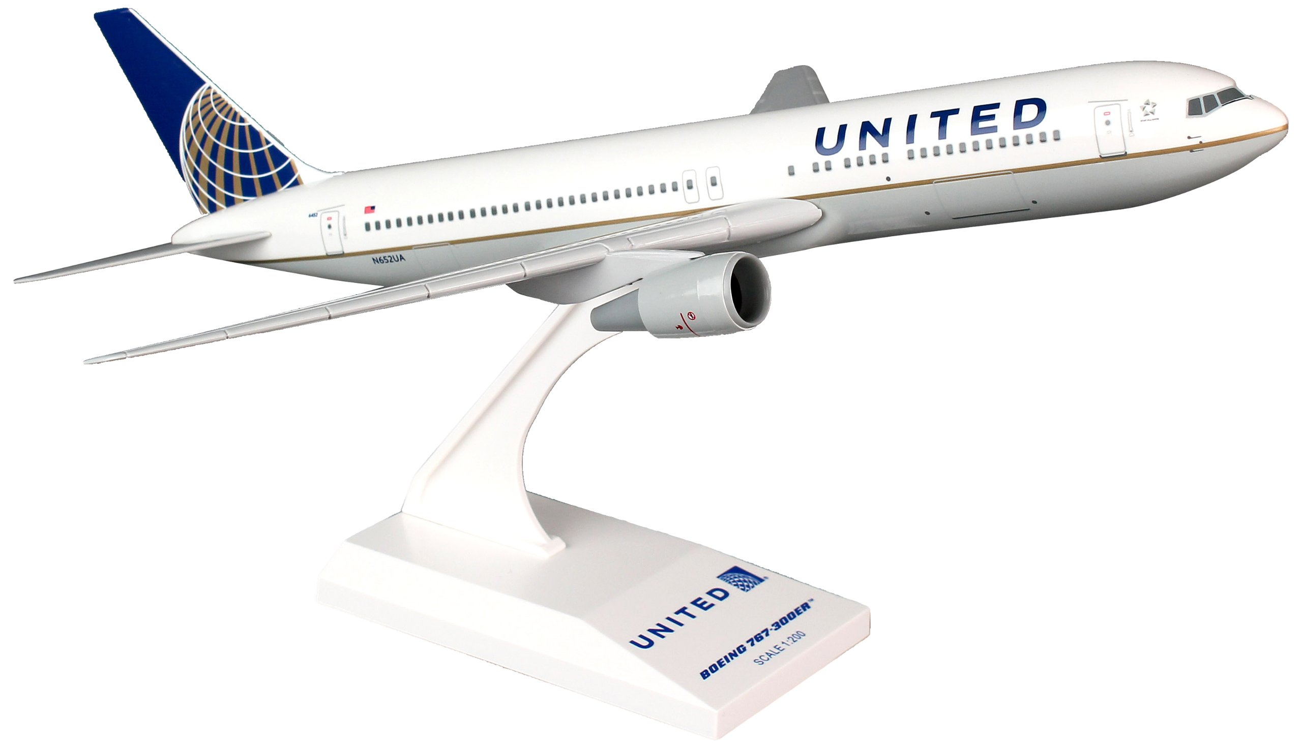 Daron Skymarks United 767-300 New Livery Model Kit (1/200 Scale) by Daron