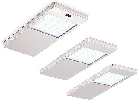 3er//set LED Unterbauleuchte mit Bewegungsmelder Küchenlampe Leuchte Möbelleuchte