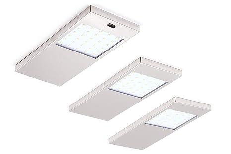 Luminaire Cuisine Avec Interrupteur : Haute qualité lot de 3 réglette led lampes à cuisine lampe blanc