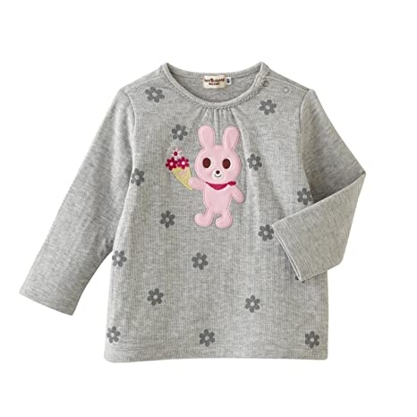 a3dd0005b9c35 ミキハウス ホットビスケッツ (MIKIHOUSE HOT BISCUITS) Tシャツ 73-5205-972 110cm グレー