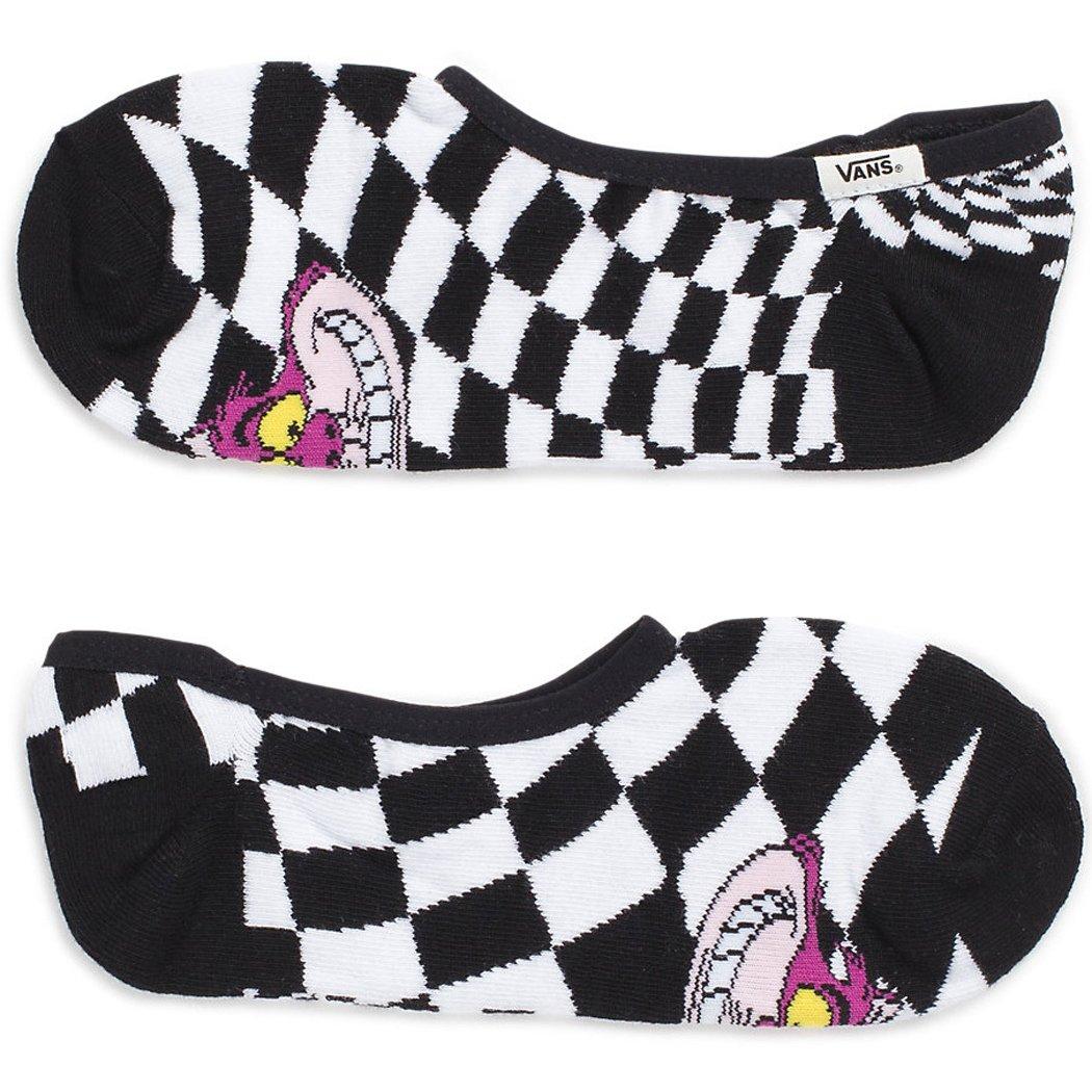 a00752c601 Amazon.com  Vans Girl s Disney Canoodles Cheshire Girl s Sock Size 7-9 (Shoe  1-6)  Clothing
