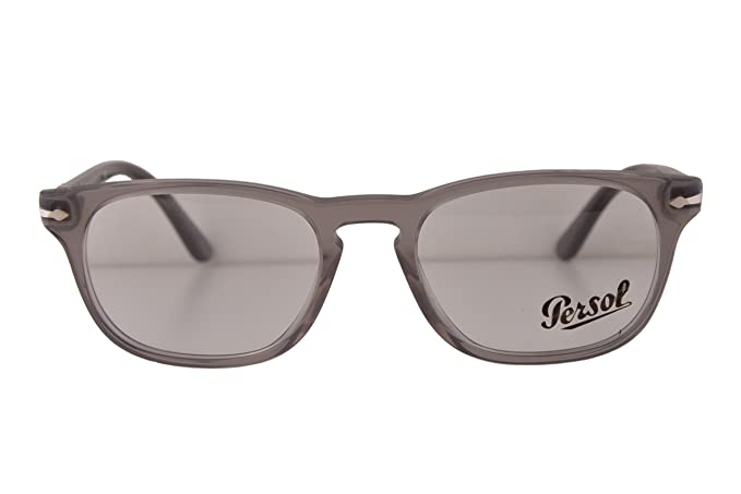 032a251fe7b8d Image Unavailable. Image not available for. Colour  Persol PO3121V  Eyeglasses 52-19-145 Crystal Gray 1029 PO 3121V ...