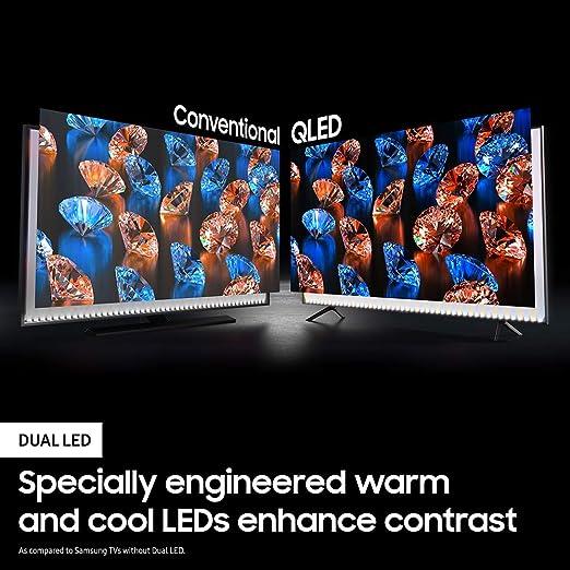 Samsung Q60T QLED 4K UHD Smart TV QN55Q60TAFXZA 2020: Amazon.es ...
