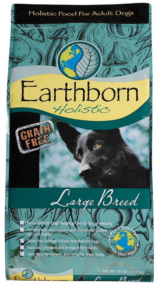 28 lb Earthborn Holistic Large Breed Grain Free Dry Dog Food, 28 Lb.