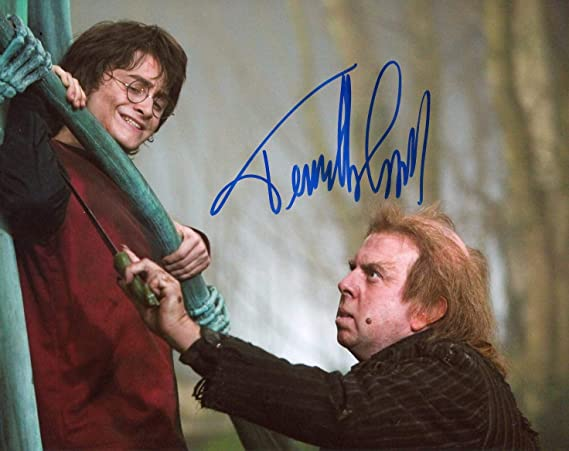 Timothy Spallharry Potter Autograph Signed 8x10 Photo Acoa At