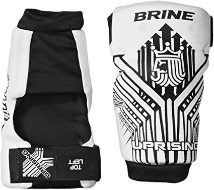 Brine Uprising Lacrosse Arm Pad LAPUPR2L WH L-P