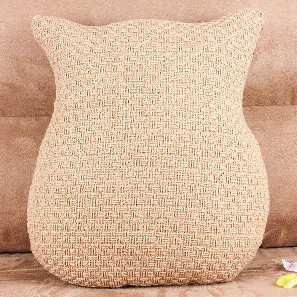 Amazon.com: Cushion - Creative 3d Cartoon Cushion Cute Owl ...