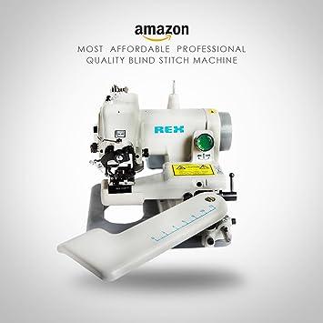 Smartek USA Rex - Máquina de coser (Máquina de coser automática, Gris, Costura, 1200 RPM, Eléctrico): Amazon.es: Hogar