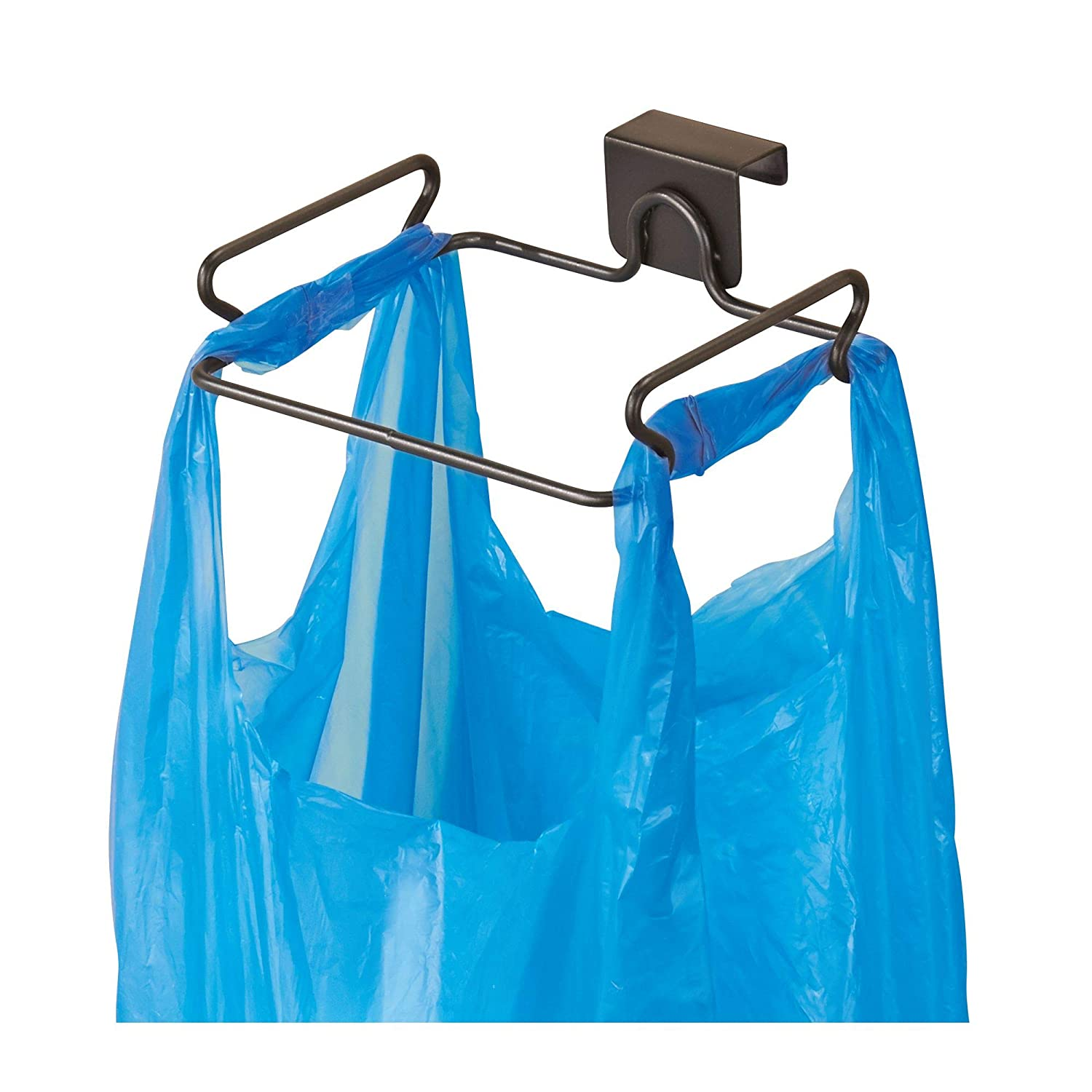 Garbage Bag Holder Under Sink Mounted Cabinet Trash Stand