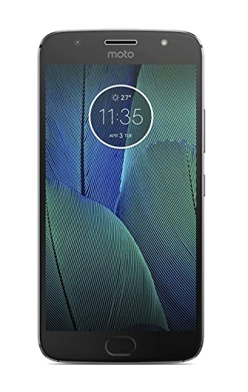Motorola G5s Plus (Lunar Grey, 64GB)