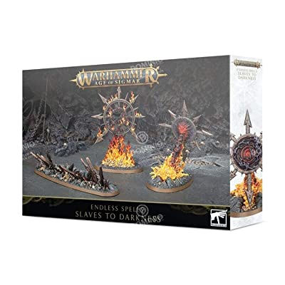 Games Workshop Warhammer Age of Sigmar: Endless Spells: Slaves to Darkness: Toys & Games