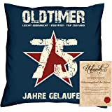 geschenk zum 25 geburtstag hammer jahrgang 1993 geburtstags kissen gr e 40x40cm farbe. Black Bedroom Furniture Sets. Home Design Ideas