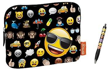 Funda Tablet Universal EMOTICONOS Emoji: Amazon.es: Juguetes ...