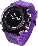 COGITO CLASSIC - relojes inteligentes (Alrededor, Negro, Púrpura, Púrpura, Resistente al agua)
