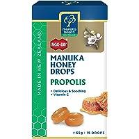 Manuka Health MGO 400+ Manuka Honey Drops with Propolis, 65 grams