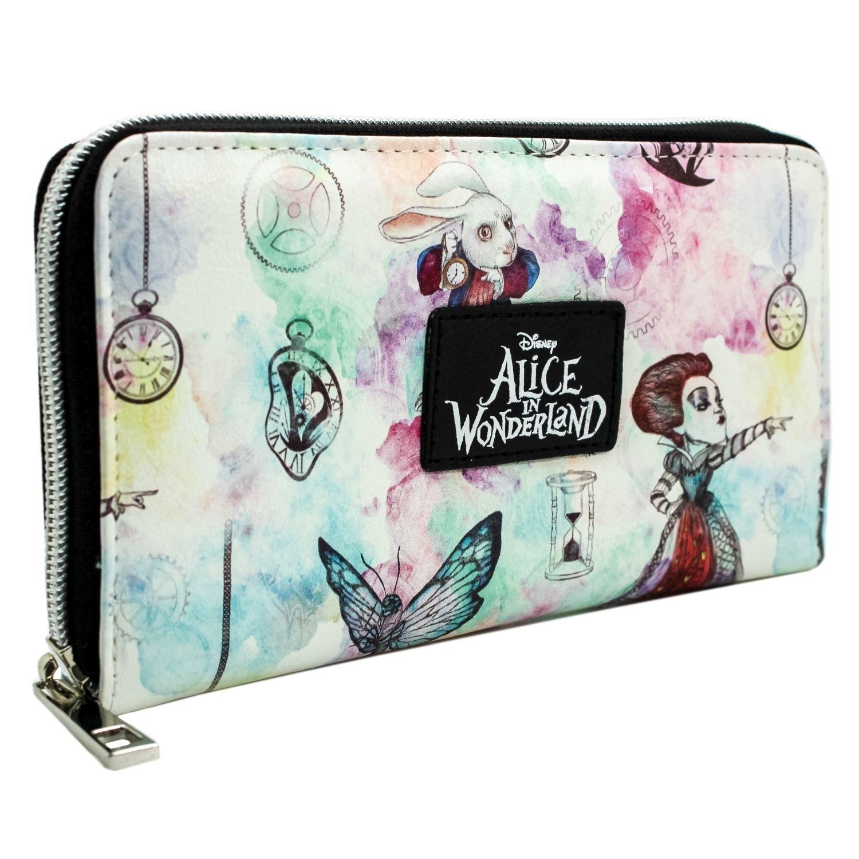 Alice In Wonderland De l'autre côté du Miroir Blanc Portefeuille 29894