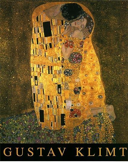 377d50c0f1b Amazon.com  Gustav Klimt (The Kiss) Art Poster Print Mini Poster 16 ...